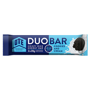 OTE Cookies & Cream Duo Energy Bar