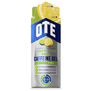 OTE Lemon and Lime Energy Gel With Caffeine