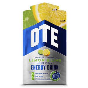 OTE Lemon and Lime Energy Drink Sachets