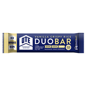 OTE Vanilla and White Chocolate Chip Duo Energy Bar