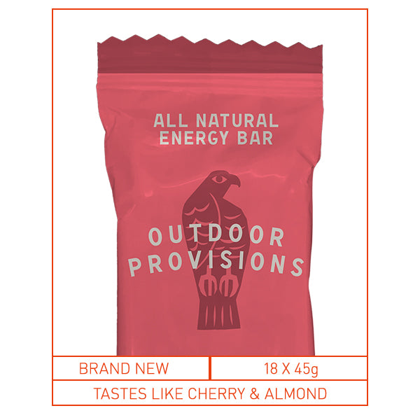 Outdoor Provisions Energy Bar Cherry Bakewell
