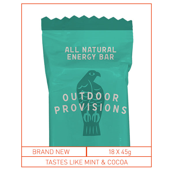 Outdoor Provisions Energy Bar Choc Kendal Mint Cake