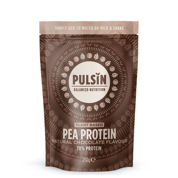 Pulsin Pea Protein Natural Chocolate