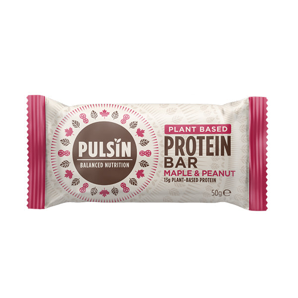 Pulsin Protein Bar Maple & Peanut