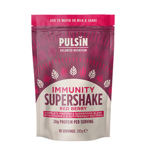 Pulsin Super Shake 'Immunity' Red Berry