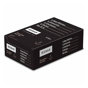 RXBAR Protein Bar Chocolate Sea Salt Box of 12