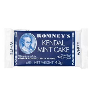 Romneys White Kendal Mint Cake 40g Bar