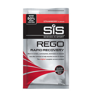 SiS Strawberry REGO Rapid Recovery Sachets