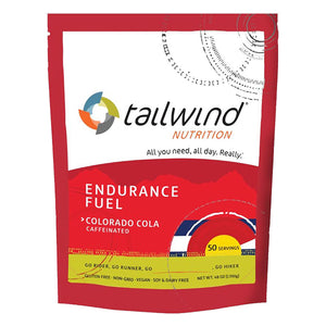 Tailwind 50 Serving Pouch Colorado Cola Buzz Caffeinated Endurance Fuel