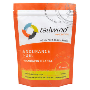 Tailwind 50 Serving Pouch Mandarin Orange Endurance Fuel