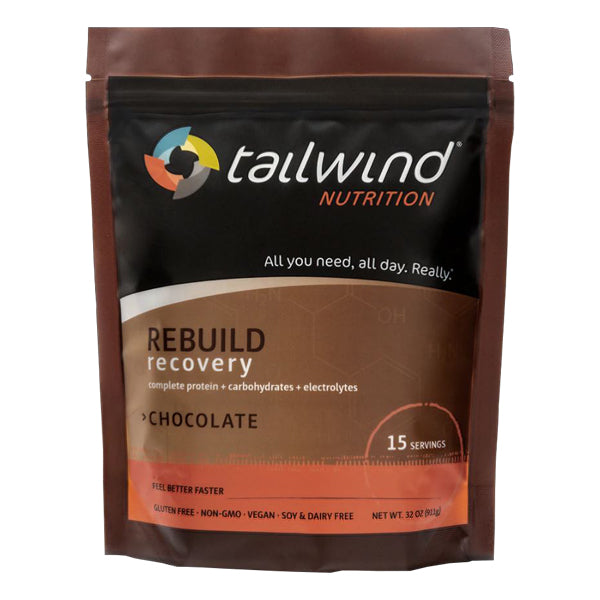 Tailwind 15 Serving Pouch REBUILD Recovery Chocolate Drink Mix
