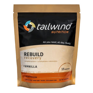 Tailwind 15 Serving Pouch REBUILD Recovery Vanilla Drink Mix