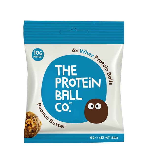 The Protein Ball Company Whey Protein Balls Peanut Butter