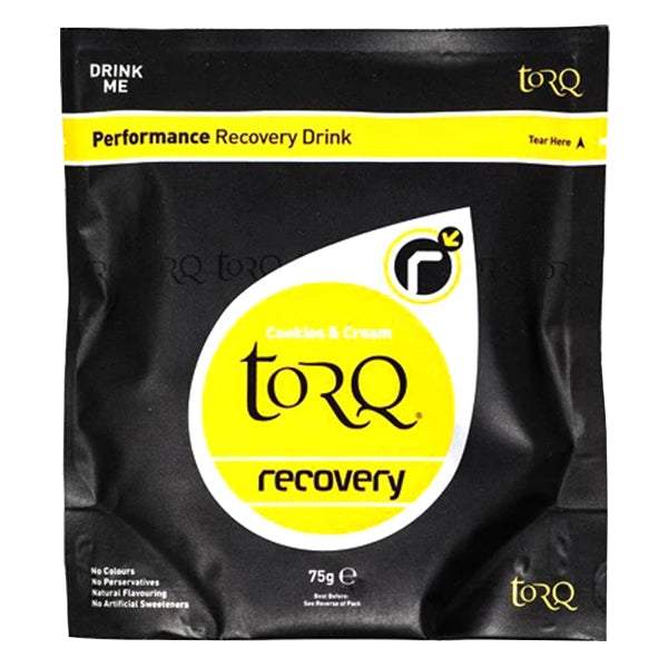 Torq Cookies & Cream Recovery Drink (Singles)