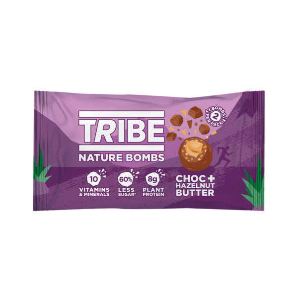 TRIBE Vegan Nature Bombs Choc & Hazelnut Butter