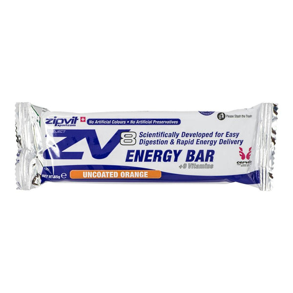 Zipvit Uncoated Orange ZV8 Energy Bar