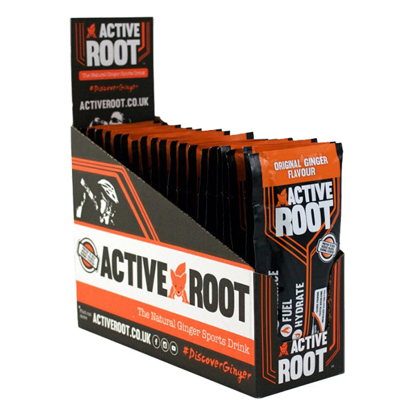 Active Root Natural Ginger Sports Drink Original Ginger-Box of 20