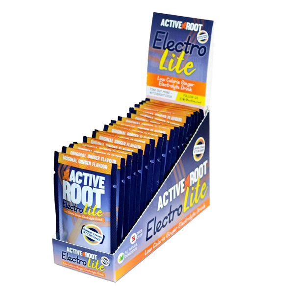 Active Root Electrolite Drink Original Ginger Sachets-Box of 20