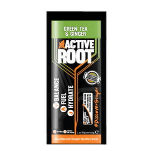 Active Root Natural Ginger Sports Drink Green Tea & Ginger