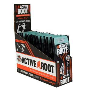 Active Root Natural Ginger Sports Drink Peppermint & Ginger-Box of 20