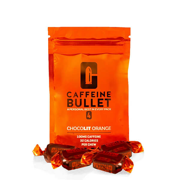 Caffeine Bullet Caffeine & Electolyte Chews Chocolit Orange