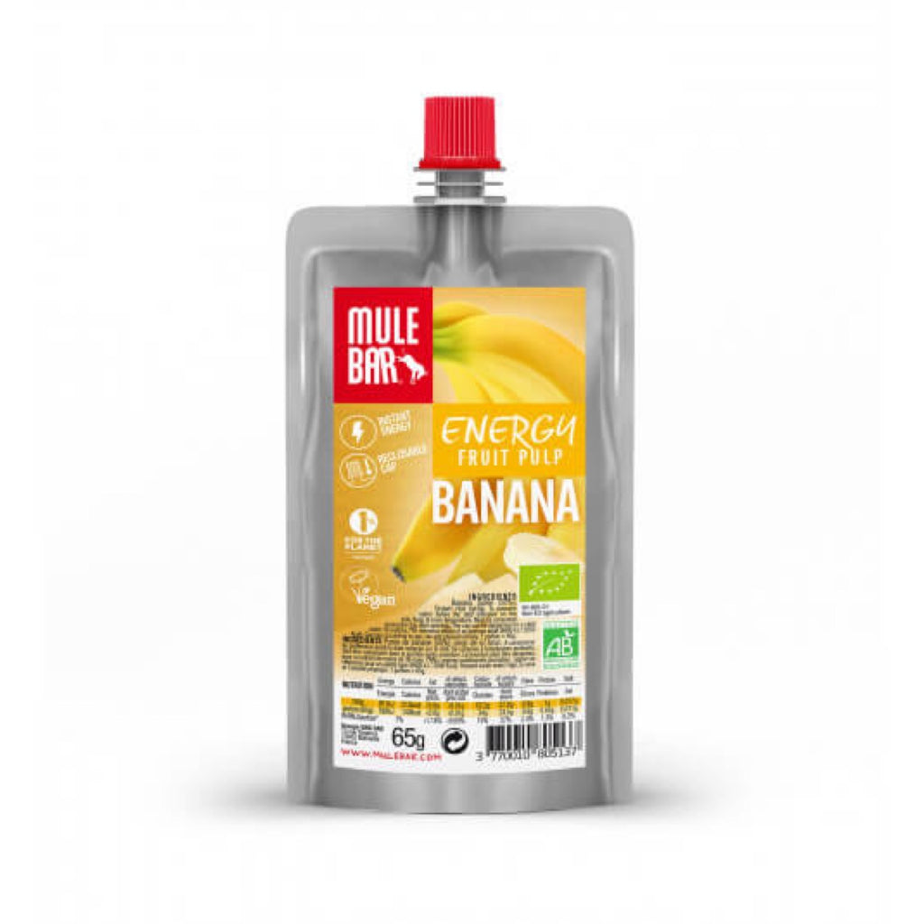 Mule Bar Energy Fruit Pulp Banana