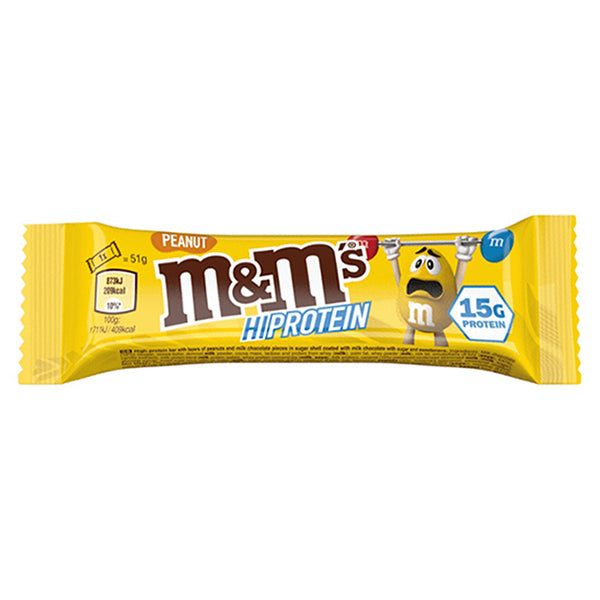 M&M's Hi Protein Bar Peanut