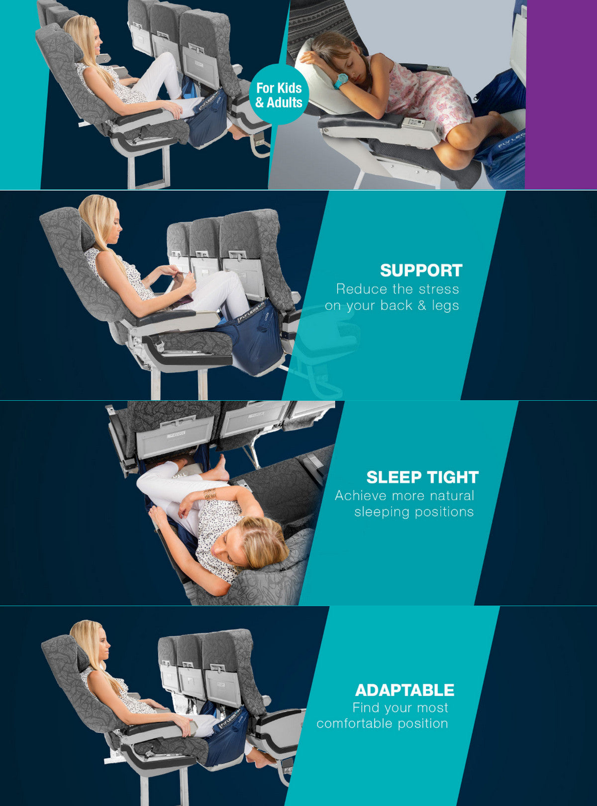 Fly LegsUp Flight Hammock 飛行吊床|anlander.com