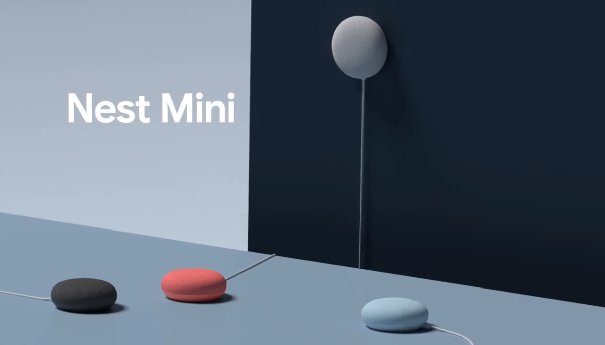 Google Nest Mini 智能喇叭