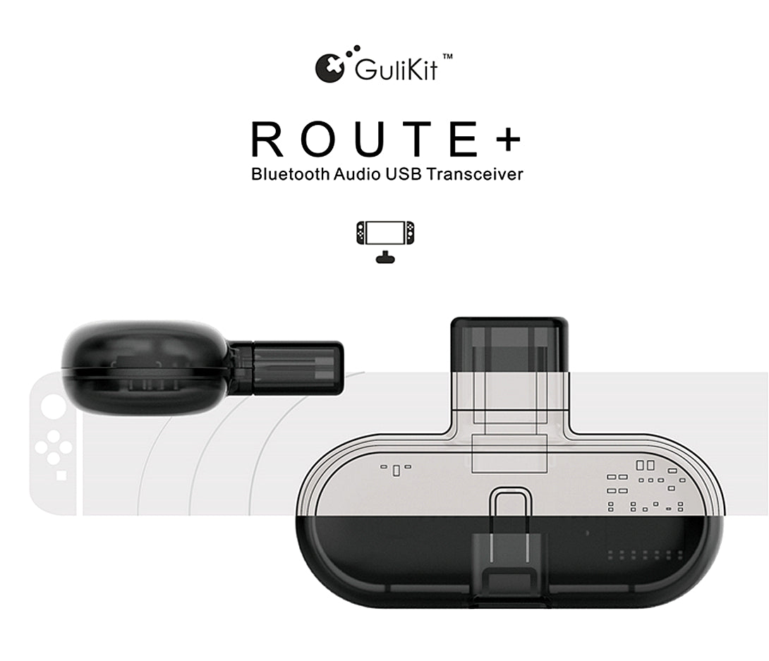 Gulikit Route+ Nintendo Switch 藍牙接收器