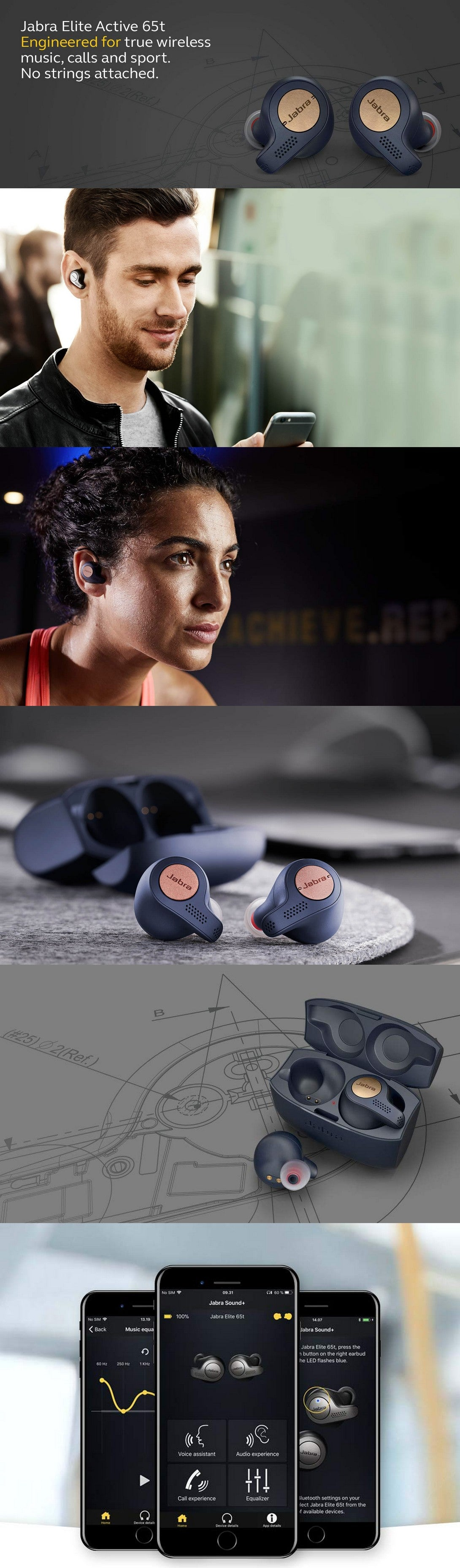Jabra Elite Active 65t 真無線 防水 藍牙耳機|免費送貨|anlander.com