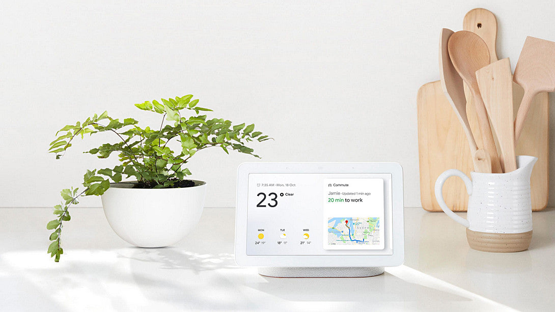 "Google Home Hub 智能家居裝置 - 7"" Smart Display with Google Assistant