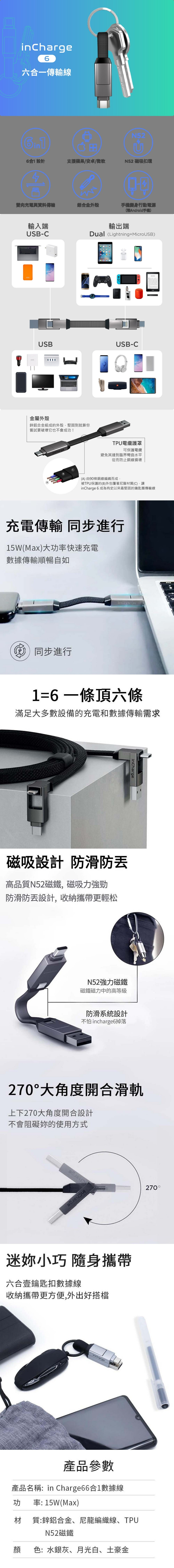 incharge-6-usb-cable
