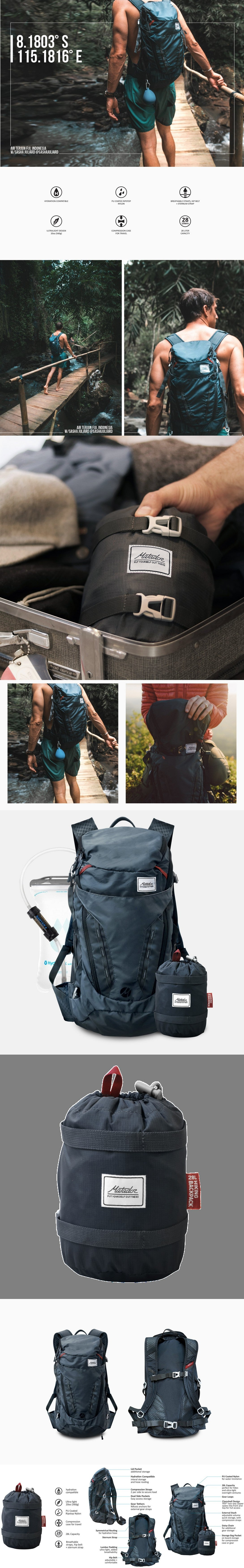 MATADOR - Beast Packable Backpack 28L 摺疊防水多功能背包