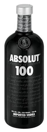ABSOLUT VODKA 100 750ML
