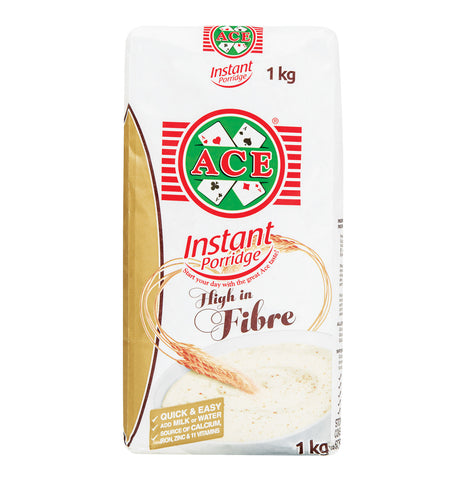 ACE INSTANT PORRIDGE 1KG HIGH IN FIBRE