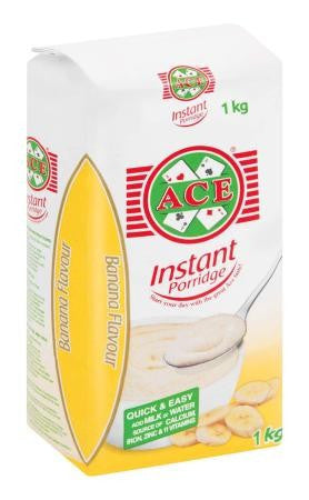 ACE INSTANT PORRIDGE 1KG BANANA