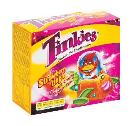 ALBANY TINKIES 6'S STRAWBERY TINGLE