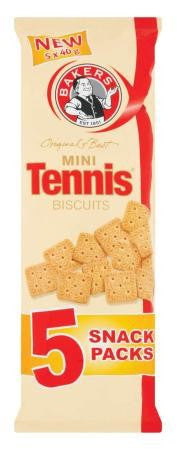 BAKERS MINI TENNIS BISCUITS MULTIPACK 5X40G