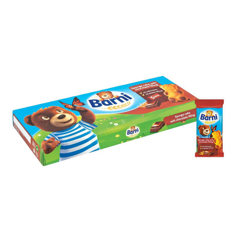 BARNI SOFT CAKE 12X30G CHOCOLATE
