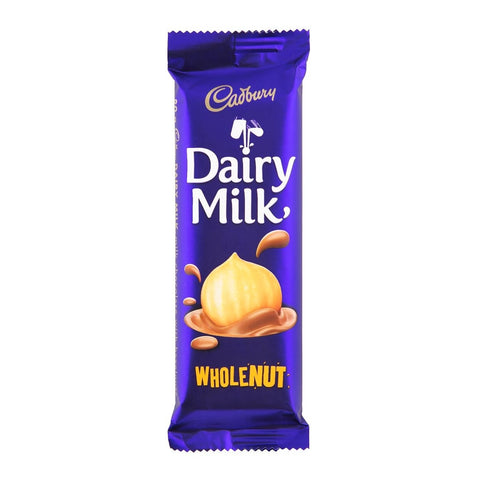 CADBURY CHOCOLATE SLABS 80G WHOLE NUT