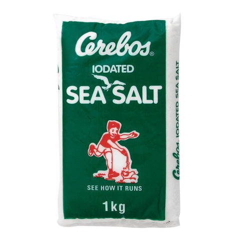 CEREBOS SEA SALT POLY 1KG