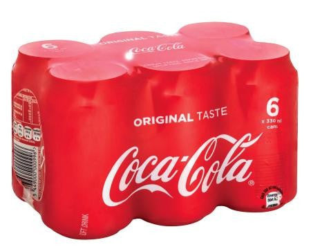 COCA-COLA 330ML SIX PACK