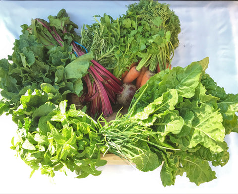 Organic Vegetables and Herbs Crate Monthly Subscription