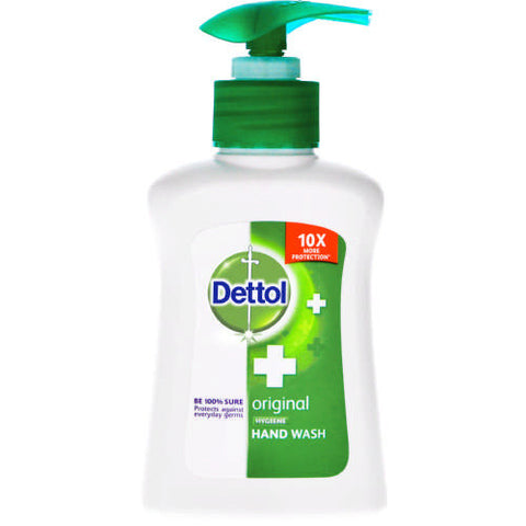 DETTOL LIQUID HANDWASH PUMP 200ML ORIGINAL