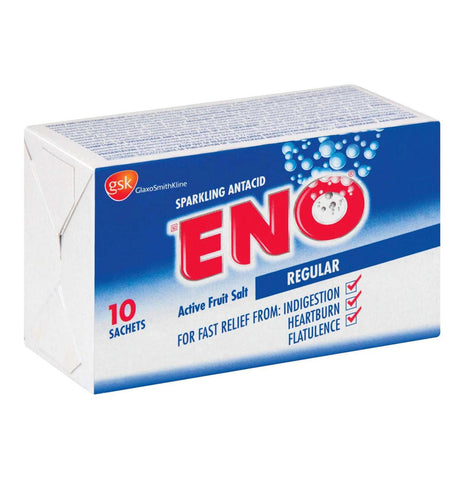 ENO FRUIT SALTS TRAVEL PACK 10'S REGULAR