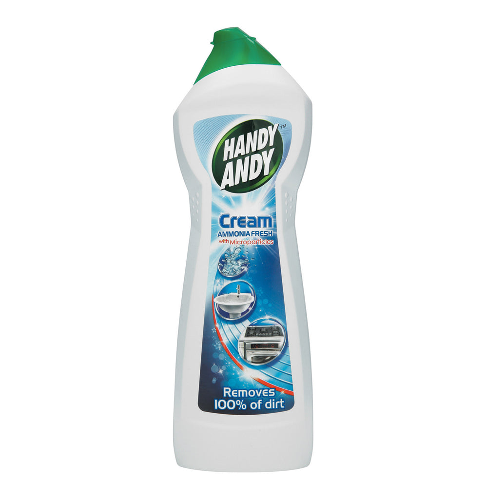 HANDY ANDY CREAM 750ML AMMONIA FRESH