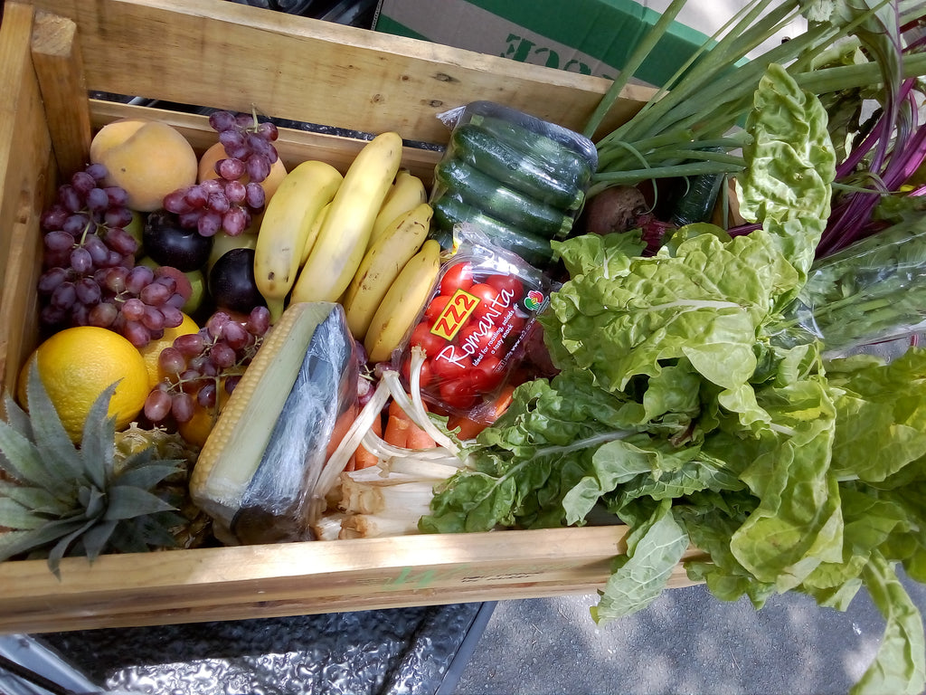Medium Fruit and Vegetable Combo Crate/Box Monthly Subscription