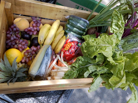 Subscription: 4x Weekly Supplies of Couple's Fruit and Vegetable Combo Crate