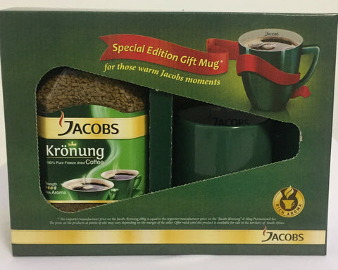 JACOBS KRONUNG INSTANT COFFEE 200G MUG PROMO